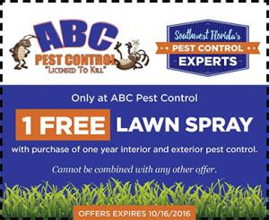 (1) FREE Lawn Spray